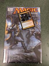 IDW Magic the Gathering Comic #4    Electrolyze    Alternate Art Promo