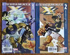 Ultimate X-Men Fantastic Four (2006) set of 2 - Vf/Nm - 1, 2 of 2