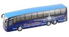 Teamsterz Blue Traveller City Coach Bus Die Cast Vehicle Kids Toy 1:50 Scale New