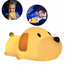 Luz LED de noche para niños lámpara cachorros perro noche ninos dormir