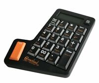 Connectland 1108016 LK-10C-BLACK USB Numeric Keypad with Calculator