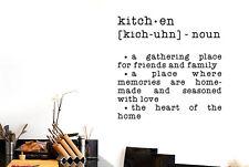 Kitchen Dictionary Definition Vinilo Pegatinas De Pared Adhesivo Decoración