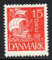 Denmark 15 Ore Stamp c1927 Mounted Mint Hinged (4851)