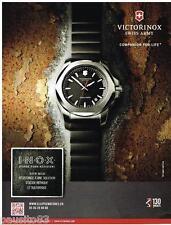 PUBLICITE ADVERTISING 0105  2014   la montre VICTORINOX  SWISS ARMY