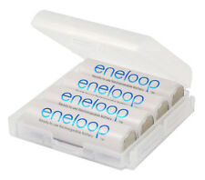 4 x Panasonic eneloop AA 2000 mAh Rechargeable Batteries Ready to use Free BOX