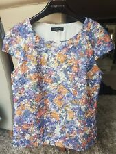 *JAEGER SIZE 16 FULLY LINED PRETTY FLORAL TOP*L@@K*