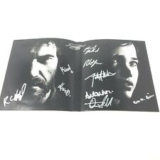 The Last of Us PS3 Playstation 3 SIGNED Troy Baker & More