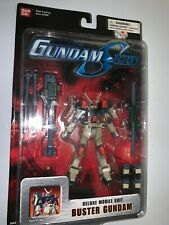Ban Dai Deluxe Mobile Suit Buster Gundam Seed Cartoon Network Action Figure