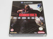 Resident Evil 3 Nemesis Nintendo GameCube UK PAL * Brand NEW Sealed *