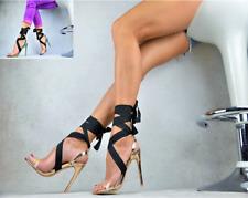 NEU Designer Damenschuhe  TRANSPARENT  Sandalen SEXY High Heels Party Pumps