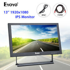 "Eyoyo 13"" Full HD 1920x1080 Video Audio VGA BNC HDMI IPS Monitor For CCTV Camera"