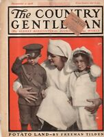1918 Country Gentleman Cover December 7 - The Nurse and the Orphans