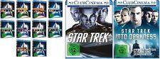 12 Blu-rays * STAR TREK - KINOFILME 1 - 12 (EINZELN) IM SET # NEU OVP +