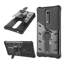 Custodia cover silicone gomma e plastica guscio per  Nokia 6 (2018) NOK-257