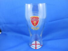 Budweiser Beer Glass from FIFA WORLD CUP BRAZIL 2014 ENGLAND'S FLAG
