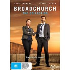 Broadchurch Series Complete Collection Season 1-3 1 2 3 Oz DVD Set Region 4 R4