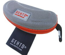 "Sports Style Sunglasses Case and Premium Cleaning Cloth by ""GEHTO"""