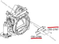 MIRROR CUSHION FOAM FOR CANON EOS 5D 6D 5D MARK II  PART CB3-2787 - NEW