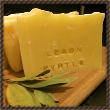 1 X Lemon Myrtle Handmade, Natural & Organic Soap. For Oily Skin