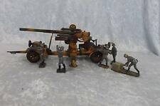 Circa 1938/9 Lineol Model No. 1230 Flak 36 88mm Anti Aircraft Gun Tin Plate