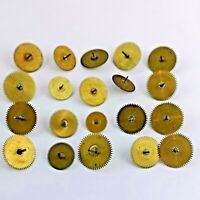 Lot of Verge Fusee Pocket Watch Center Wheel Parts for Watchmakers (D164)