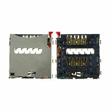 2 PCS SIM CARD READER SLOT HOLDER FOR SONY XPERIA Z1 L39H C6902 C6903 #A-872