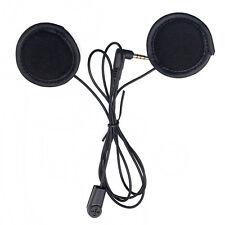 Stereo Headset for Motorcycle Helmet V6 Intercom Soft cable Headphone Earphone
