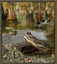 Realtree Alligator Panel Cotton Fabric-$10.89/yard