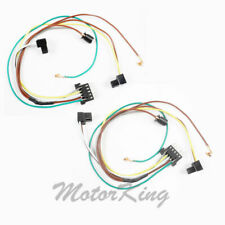 For Mercedes C350 C280 C32AMG C240 Headlight Wire Harness Connector Pair DC111A