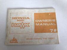 HONDA CB 400t manuale di istruzioni owner's manual
