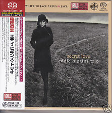 """Eddie Higgins Trio  Secret Love"" Japan Venus Records Audiophile DSD SACD CD New"
