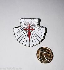 Camino de Santiago - St.James PIN **Wear the original Vieira** Pilgrim Cross