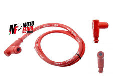 MF0882 - CAVO CANDELA SILICONE ROSSO NGK RACING PIPETTA VESPA 50 SPECIAL RLN