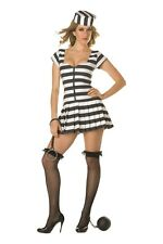 Prisoner of Love Adult Costume M-(6-8) by RG Costumes, Escaped Convict -NEW