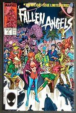 Marvel Comic Book Fallen Angels # 7 October 1987