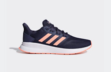 ADIDAS WOMEN'S RUNFALCON SHOES TRACE BLUE / DUST PINK F36271