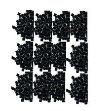 100 Rhinestones BLACK new lots Arts Crafts SQUARES