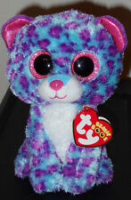 """Ty Beanie Boos - Dreamer 6"""" Leopard ~ Justice Exclusive ~ 2016 New ~In Hand"""
