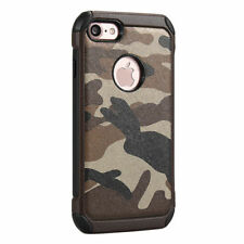 Protective Camouflage Pattern Phone Cover Case for Apple iPhone 7 & 8
