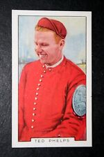 Rowing & Sculling    Phelps   Vintage 1930's Colour Card   VGC