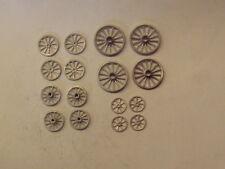 P&D Marsh OO Gauge PW108 cart wheels (16) castings require painting