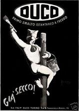DUCO-Montecatini-smalto-FREDDO-istantaneo-pennello-1929