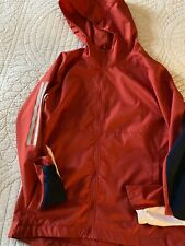 WOMEN'S ADIDAS RUNNING JACKET CLIMALITE TOP REFLECTIVE LIGHTWEIGHT UK 8-10