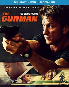 The Gunman (Brand New Blu-ray - DVD, 2015, 2-Disc Set) Sean Penn
