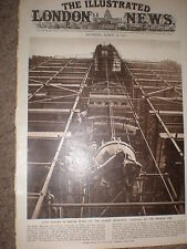 Photo article last stages of repair ot Albert memorial London 1955 ref Z