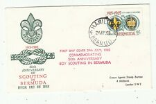 BERMUDA BOY SCOUT 1965 FIRST DAY  COVER. Rfno.C127.