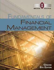 Fundamentals of Financial Management by Bringham, 8th Edition