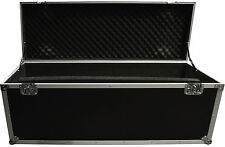 Large utility / cable packer flightcase case on wheels 123x43x48cm  NEW