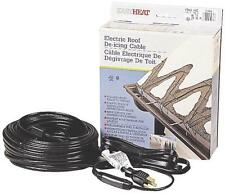 EASY HEAT ELECTRIC ROOF & GUTTER DE-ICING CABLE ADKS 150   **30 FEET CABLE ft