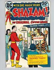 Shazam! #7  The Original Captain Marvel with Mr Tawny from 1973 Nice VF!